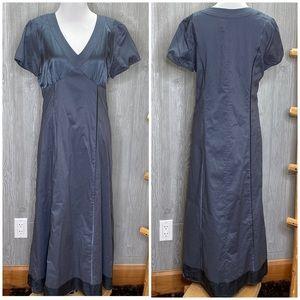 Sundance Cotton with Silk Trim Maxi Dress 10